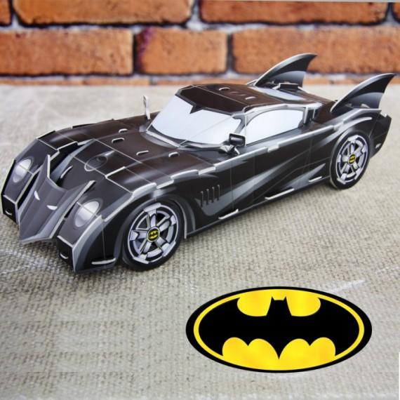 La Batmobile en puzzle 3D