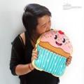 Coussin gâteau cupcake