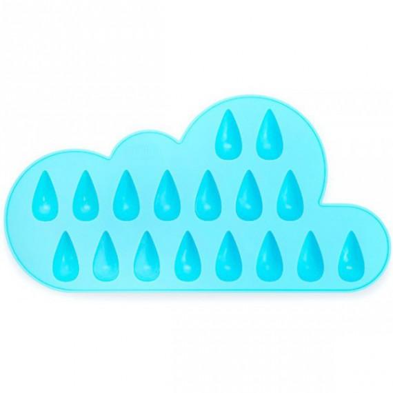 Glaçons gouttes de pluie