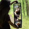 Miroir pliable