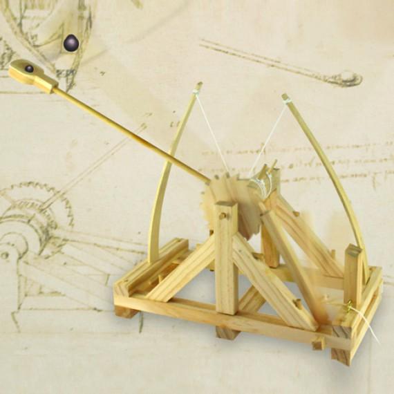 Catapulte de bureau Da Vinci