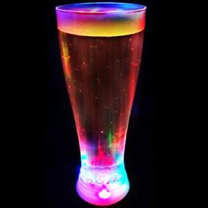 Verre à bière lumineux à LED