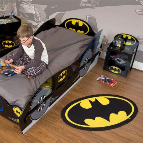 Batman a sa descente de lit