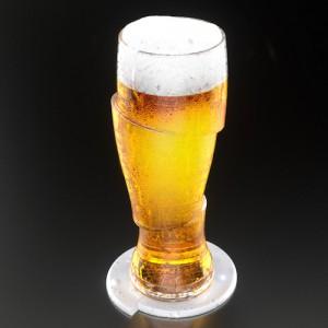 Verres à bière tranchés (x2)