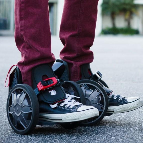 Rollers électriques Rocket skates