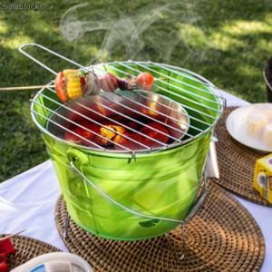 Barbecue en forme de seau pour cet été
