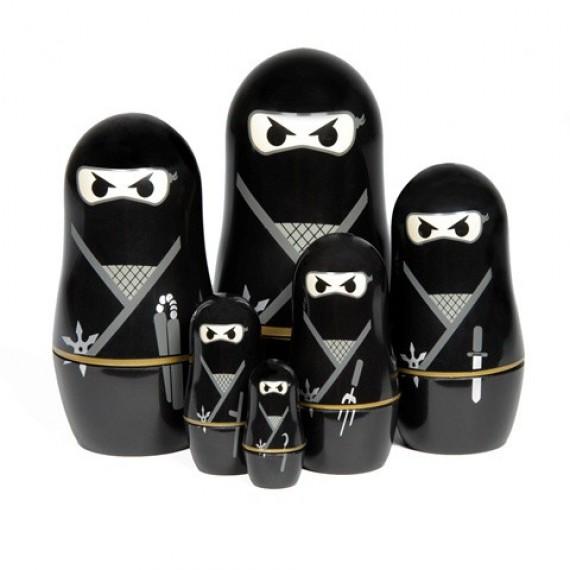Ninja Poupées Russes