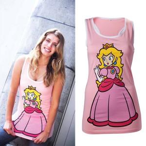 Débardeur femme Nintendo Princesse Peach