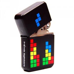 Briquet zippo Tetris retrogaming