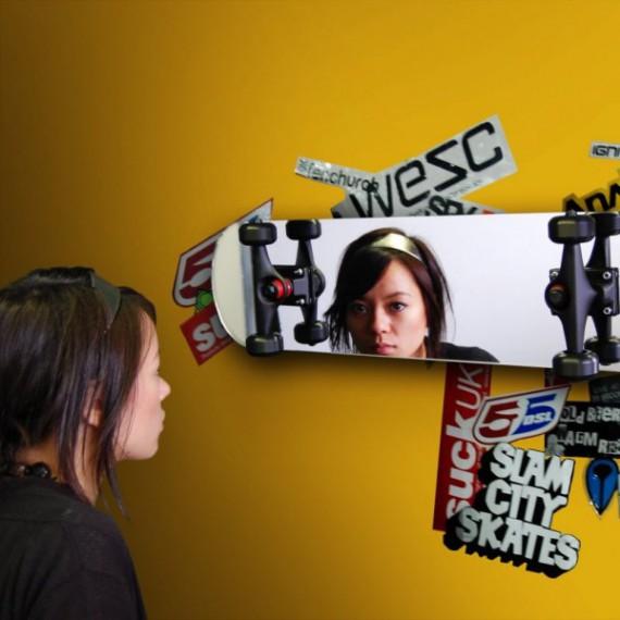 Miroir Skateboard