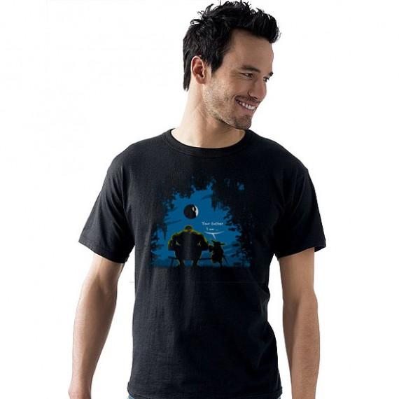 T-shirt Hulk Maître Yoda Your father I am