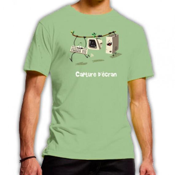 T-shirt Capture d'écran