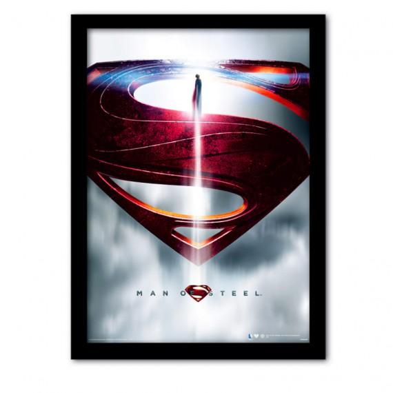 Cadre Superman Man of Steel