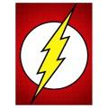 Toile logo flash Gordon DC Comics
