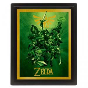 Cadre Link Relief The Legend of Zelda