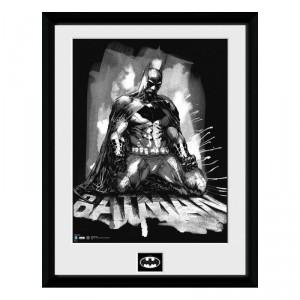 Cadre Batman Comic Paint