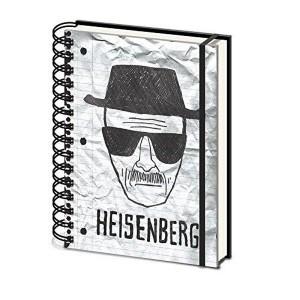 Cahier A5 Breaking Bad Heisenberg