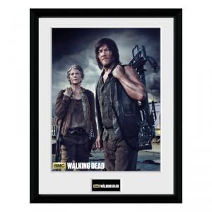 Cadre Walking Dead Carol et Daryl