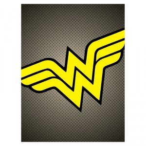 Toile Wonder Woman DC Comics