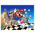 Toile Super Super Mario Bros 3 Nintendo