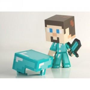 Figurine Minecraft Diamond Steve