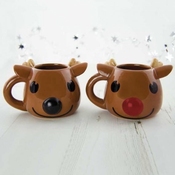 Mug Rudolph Chaud Froid