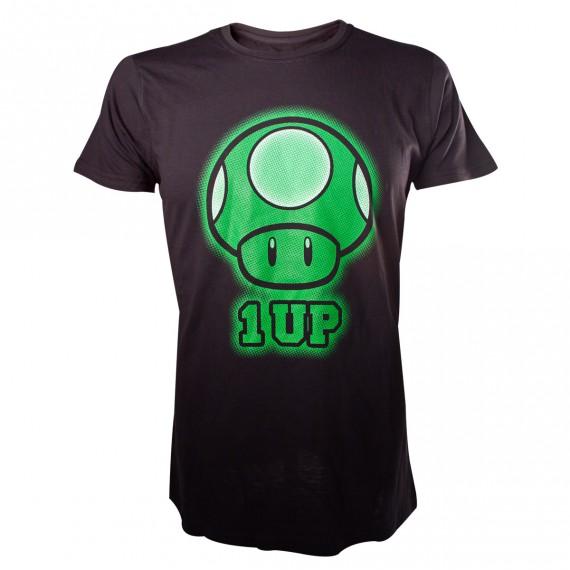 T-shirt champignon mario