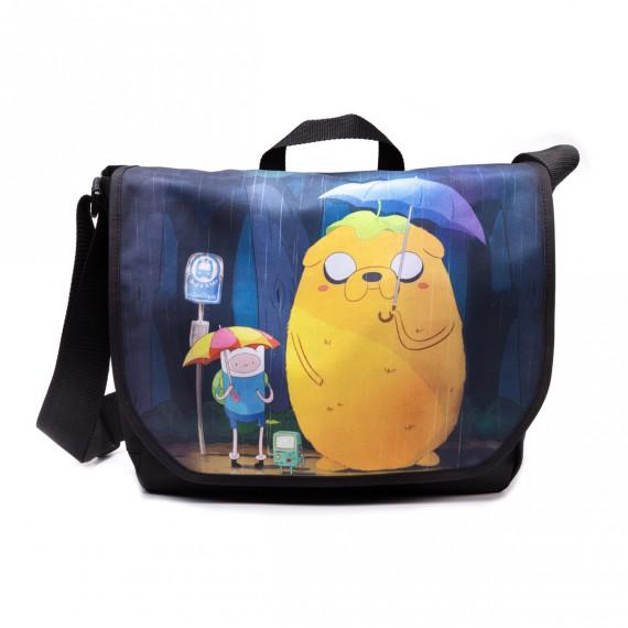 Sac à Bandoulière Adventure Time Totoro Style