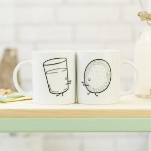 et de 2 mugs Ensemble c'est mieux