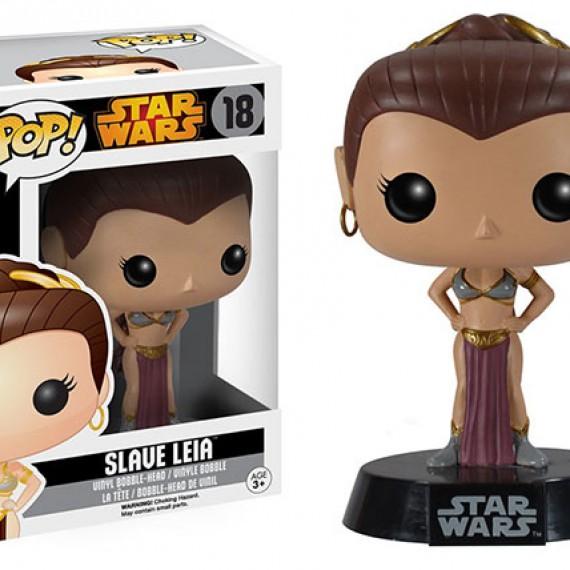 Figurine POP Star Wars Ewok Princesse Leia Slave