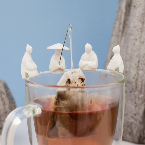 Porte sachet à thé pêcheur