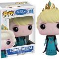 Figurine Pop La Reine des Neiges couronnement Elsa