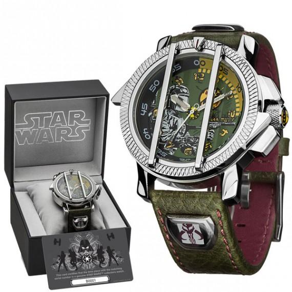 Montre Star Wars Collector Deluxe Boba Fett
