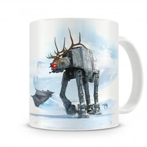 Mug Star Wars édition noel Renne et AT-AT