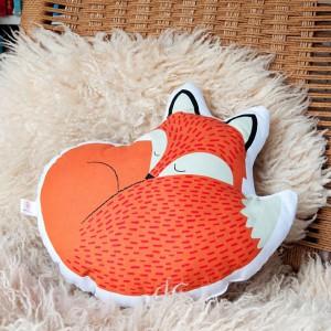 Coussin renard - Rusty the fox