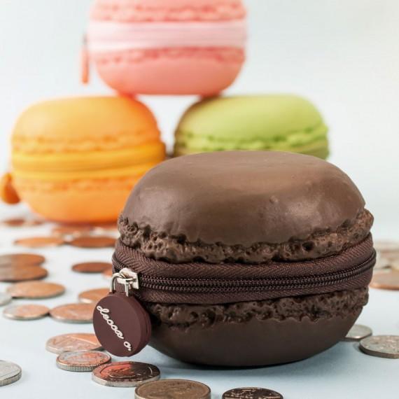 Porte-monnaie forme et senteur macaron
