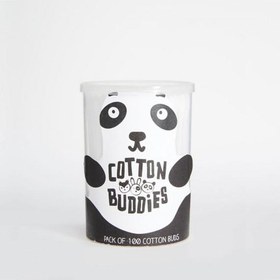 Boîte à cotons tiges Panda