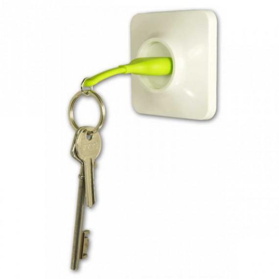 Porte-clés prise électrique avec support mural