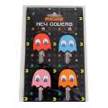 Pack 4 couvre clé Pacman