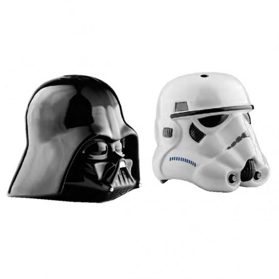 Salière et Poivrière Star Wars Dark Vador & Stormtrooper