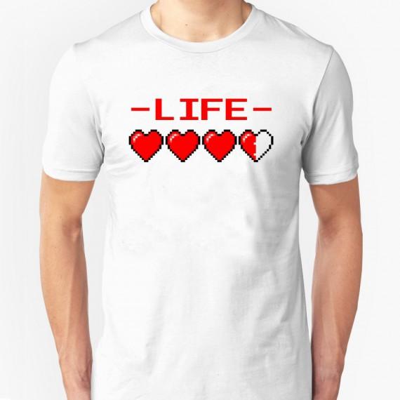 T-shirt 8 Bit Life