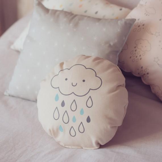 Coussin Nuage de pluie
