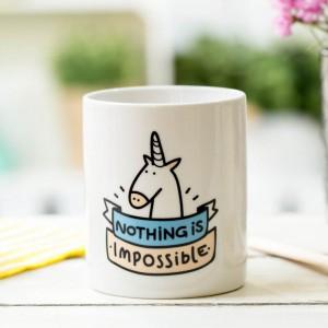 Mug Licorne Nothing is impossible