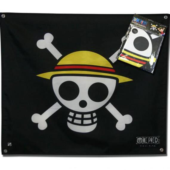 Drapeau One Piece Equipage Chapeau de paille