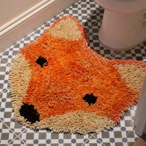 Tapis de bain renard