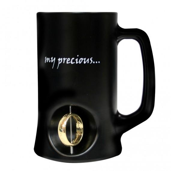 Chope bière Seigneur des anneaux My Precious