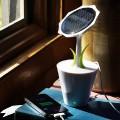 Chargeur Solaire Fleur