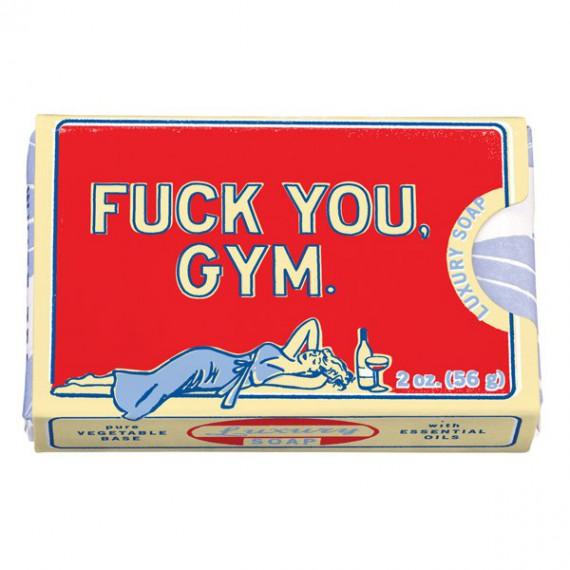 """Savon Thé Blanc et Violette """"Fuck You Gym"""""""