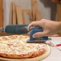 Roulette à pizza scie circulaire