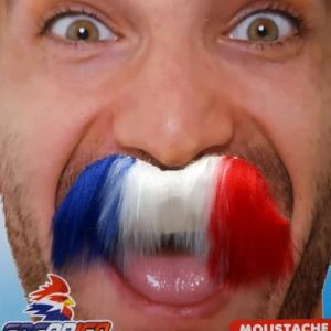 Moustache tricolore